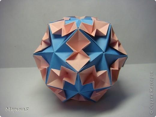 Кусудамы с книги Tomoko Fuse - Floral Globe. Обожаю собирать эти кусудамы. Очень легкие и приятные в сборке. Сборка без клея. Модули 8 на 4 см. Кусудама примерно 8-9 см.  фото 6