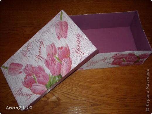 Первая коробочка фото 1