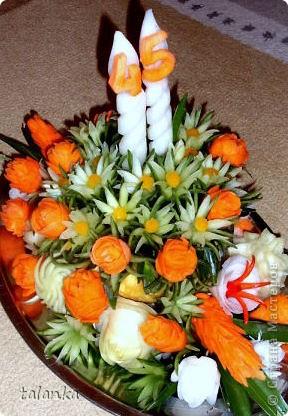 Веселенький букетик/кольраби,черная редька,морковь,лук-порей.../ фото 12