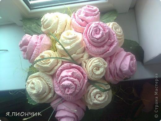 Корзина с розами фото 5