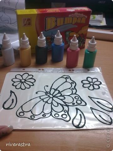 Очень давно хотела рассказать о своих витражных красках (хотя наверное громко сказано)! фото 3