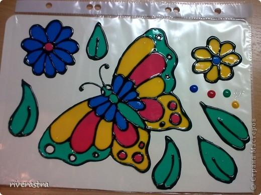 Очень давно хотела рассказать о своих витражных красках (хотя наверное громко сказано)! фото 4