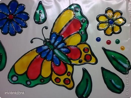 Очень давно хотела рассказать о своих витражных красках (хотя наверное громко сказано)! фото 5