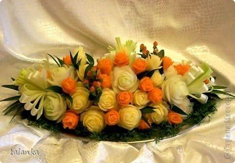 Веселенький букетик/кольраби,черная редька,морковь,лук-порей.../ фото 13