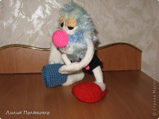 Вот такой чудик у меня связался на сайте амигуруми, благодаря Борисовой Марине фото 2