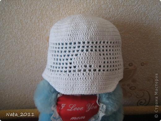 В такой кепочке гуляет мой малыш. Модель позировать отказался. Связать такую кепочку меня вдохновили девочки  с Беби-блога. фото 2