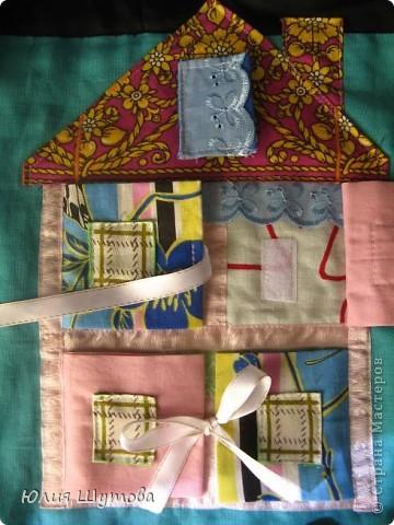 Развивающий коврик для малыша ткань