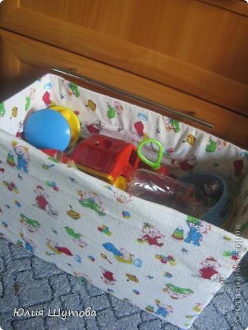Коробка для детских игрушек