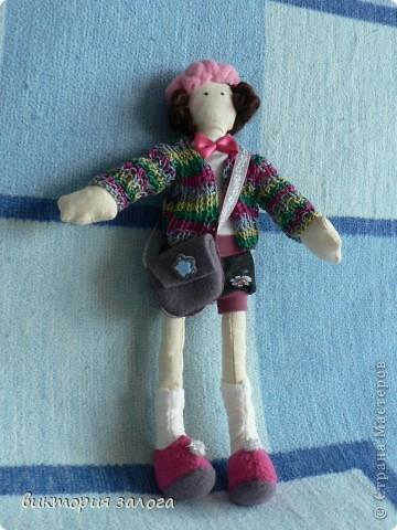 Эту куклу моя дочь назвала Джерманотта  ... долго я запоминала это имя! фото 3