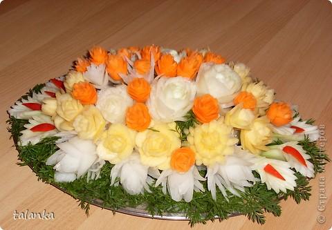 Веселенький букетик/кольраби,черная редька,морковь,лук-порей.../ фото 11