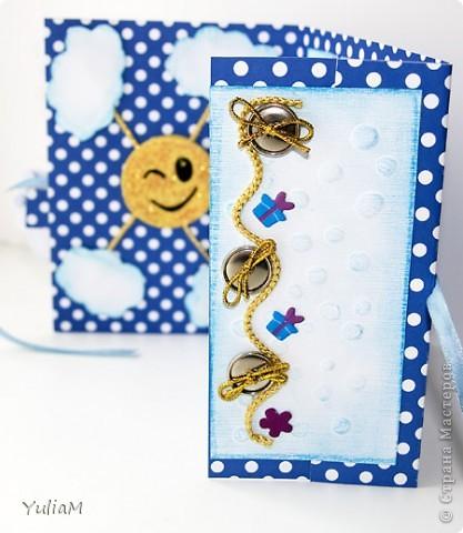 И снова всем привет! Дорвалась я сегодня до компьютера:)) Представляю вам открытку для мальчика на маленький юбилей.  фото 6