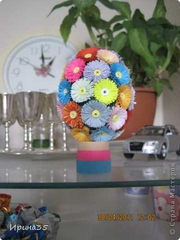 На создание этих яичек меня вдохновили работы Vitulichka http://stranamasterov.ru/node/90083?page=2&tid=451, которые были одними из первых, окунувших меня в мир квиллинга. Спасибо ей огромное!!!! фото 3