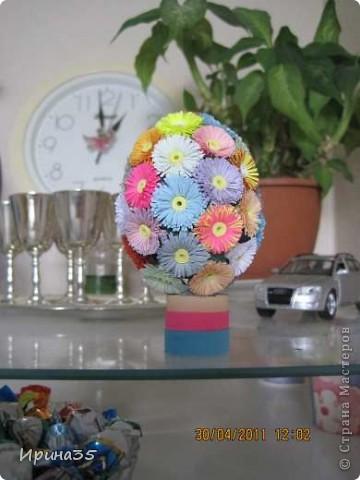 На создание этих яичек меня вдохновили работы Vitulichka http://stranamasterov.ru/node/90083?page=2&tid=451, которые были одними из первых, окунувших меня в мир квиллинга. Спасибо ей огромное!!!! фото 4