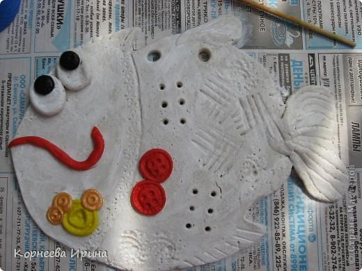у этой рыбы никак не получался цвет, вернее я никак не могла придумать какая она должна быть в конечном итоге  фото 4