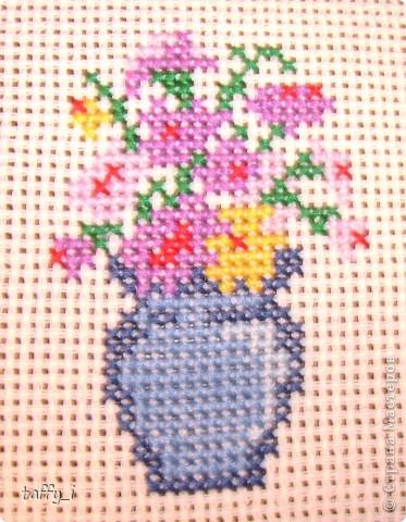 Такса. LORI, В-004. 5 цветов. 64*58 крестиков. 15*13 см. Март 2009 год. фото 7
