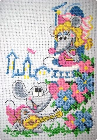 Такса. LORI, В-004. 5 цветов. 64*58 крестиков. 15*13 см. Март 2009 год. фото 12