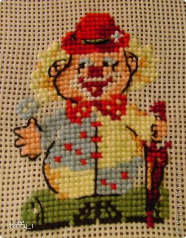 Такса. LORI, В-004. 5 цветов. 64*58 крестиков. 15*13 см. Март 2009 год. фото 15