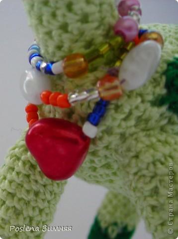 Увидела у ЖанныС жирафика (http://stranamasterov.ru/node/157654) и все, захотелось такого же! Синий жирафик. С него все и началось... фото 24