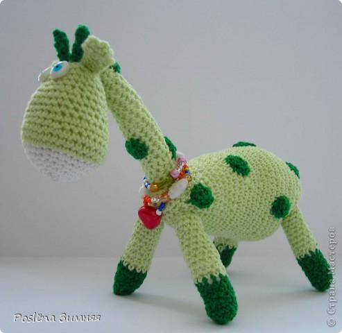 Увидела у ЖанныС жирафика (http://stranamasterov.ru/node/157654) и все, захотелось такого же! Синий жирафик. С него все и началось... фото 23