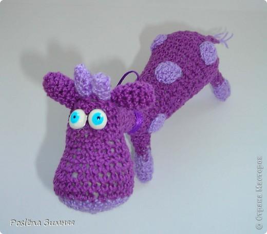 Увидела у ЖанныС жирафика (http://stranamasterov.ru/node/157654) и все, захотелось такого же! Синий жирафик. С него все и началось... фото 6