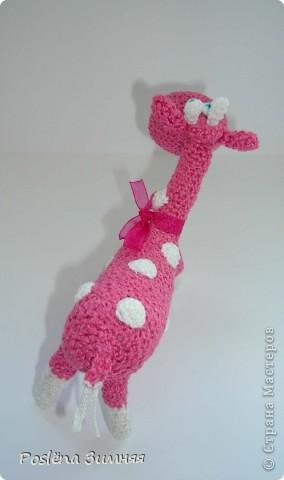 Увидела у ЖанныС жирафика (http://stranamasterov.ru/node/157654) и все, захотелось такого же! Синий жирафик. С него все и началось... фото 18