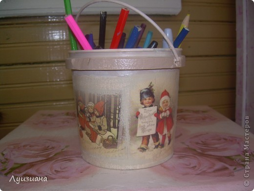 Подставка для карандашей. фото 2