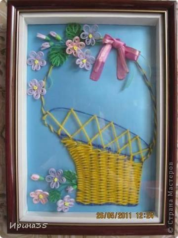 Вот такие фиалочки я сделала своей маме в подарок на день рождения. На их создание меня вдохновила Ольга Ольшак и МК, размещенный здесь: http://stranamasterov.ru/node/146378?tid=451%2C587 . фото 2