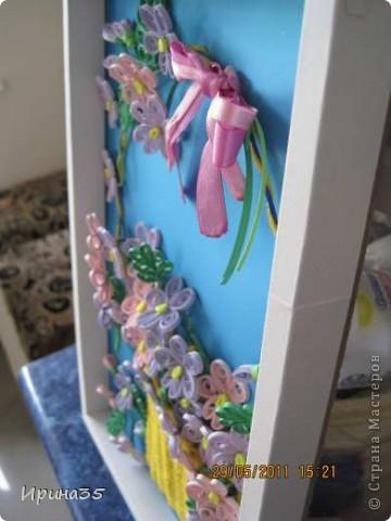 Вот такие фиалочки я сделала своей маме в подарок на день рождения. На их создание меня вдохновила Ольга Ольшак и МК, размещенный здесь: http://stranamasterov.ru/node/146378?tid=451%2C587 . фото 6