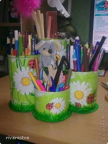 Наконец-то у меня появилась карандашница! Спасибо большое Максимовой Оксане Владимировне! http://stranamasterov.ru/node/189523?c=favorite фото 2