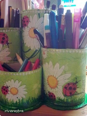 Наконец-то у меня появилась карандашница! Спасибо большое Максимовой Оксане Владимировне! http://stranamasterov.ru/node/189523?c=favorite фото 4