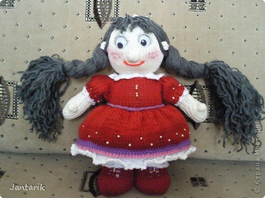 Кукла Фанечка создана по МК авторской работы natali7775 с сайта Сатилина.   фото 5