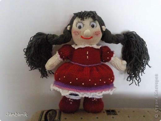 Кукла Фанечка создана по МК авторской работы natali7775 с сайта Сатилина.   фото 1