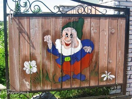 Вот такие ворота ))) фото 2