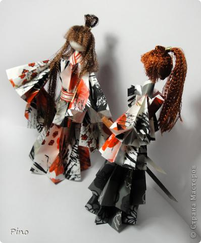 С криминальным будущим у девушки не сложилось (характером не вышла) - отдали ее за самурая (хорошая партия, не правда ли?) фото 11