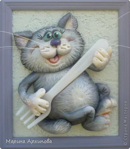 Майские работы, старались для Музейного пикника Это - любителям кошек, правда они у меня больше КОТЫ,  с кошечками чего то сложнее (нет фантазии). Работа = 20х20 фото 3