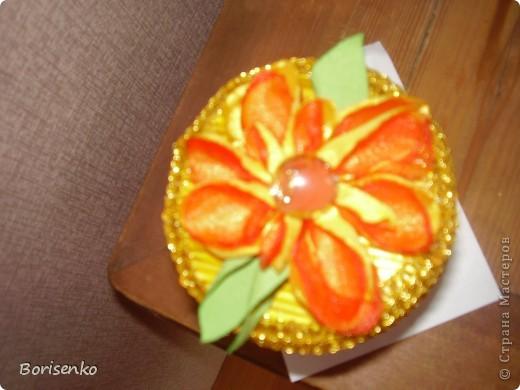 Шкатулочка. Подарок для хорошего человечка. Была сделана по мастер-классу Наты Лапушки, за что ей огромнейшая благодарность. фото 3