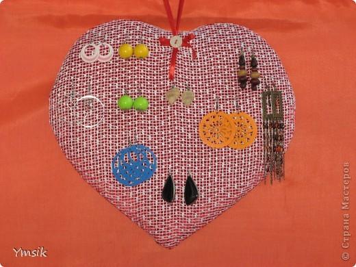 Сердце для сережек.
