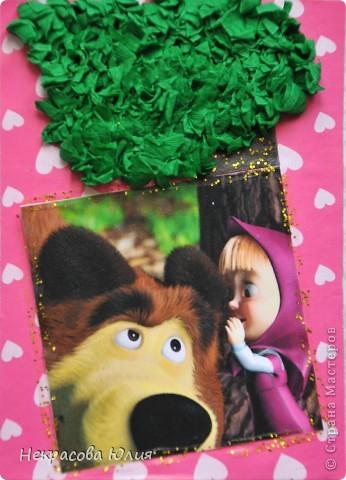 "(закрыта) Карточка Атс "" Маша и Медведь "" фото 5"