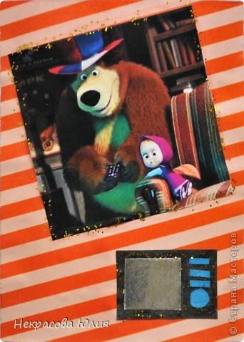 "(закрыта) Карточка Атс "" Маша и Медведь "" фото 9"