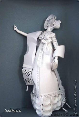 Ася Гонца - володарка паперової магії. Бумагопластика. фото 10