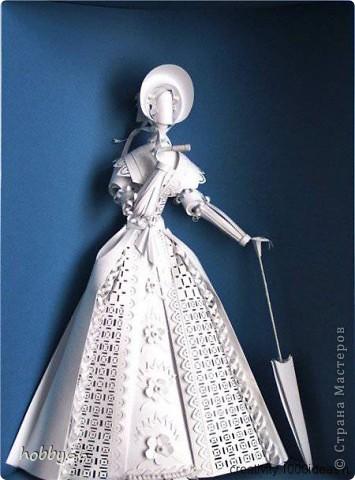 Ася Гонца - володарка паперової магії. Бумагопластика. фото 16