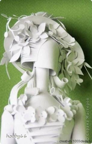 Ася Гонца - володарка паперової магії. Бумагопластика. фото 6