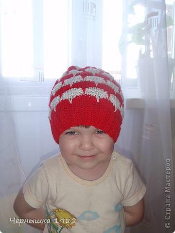 Теплые шапочки на осень фото 4