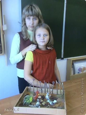 """Поделка """"Птичий двор"""" к выставке """"Золотая Осень"""" фото 2"""