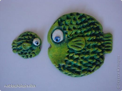 Рыбки-колючки, идея lev-alen http://stranamasterov.ru/node/108071 фото 1