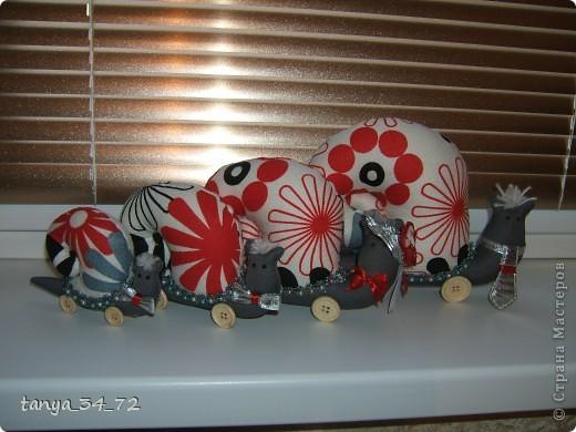 И снова мои любимые игрушки. Спешу показать новенькую семейку Улиточек.  фото 2