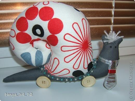 И снова мои любимые игрушки. Спешу показать новенькую семейку Улиточек.  фото 3