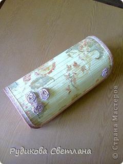 Купила набор из трех бамбуковых салфеток - получилось две шкатулки и коробочка для очков!!! фото 2