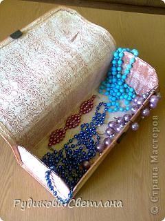 Купила набор из трех бамбуковых салфеток - получилось две шкатулки и коробочка для очков!!! фото 6