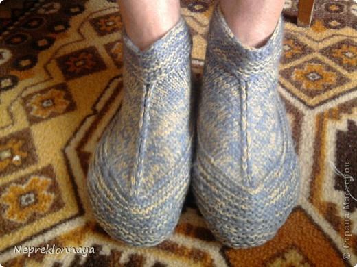Теперь ножки у любимой бабушки всегда в тепле!!!  фото 1